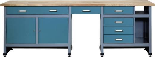 k pper 12284 werkbank 240 cm hammerschlagblau b x h x t. Black Bedroom Furniture Sets. Home Design Ideas