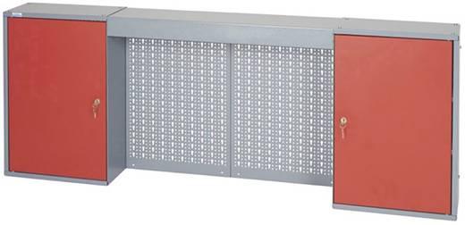 Küpper 70402 Hängeschrank 160 cm, 2 Türen und Lichtblende rot (B x H x T) 160 x 60 x 19 cm