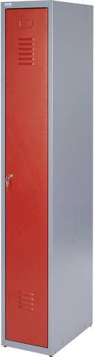Küpper 70752 Kleiderspint Grundmodul rot (B x H x T) 300 x 1800 x 500 mm