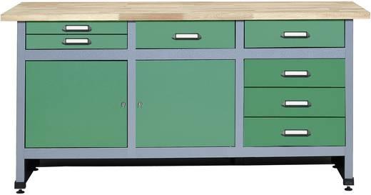 werkbank gr n. Black Bedroom Furniture Sets. Home Design Ideas