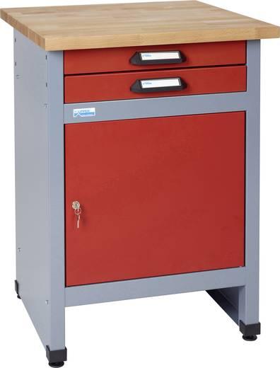 Küpper 12292 Beistelltisch mit 1 Tür und 2 Schubladen rot (B x H x T) 600 x 840 x 600 mm