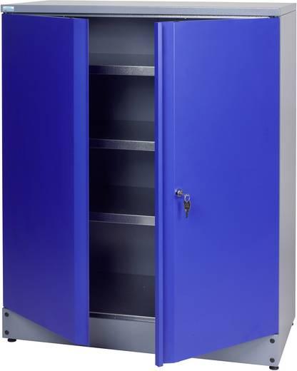 Küpper 71697 Hochschrank 110 cm ultramarinblau (B x H x T) 91 x 110 x 45 cm