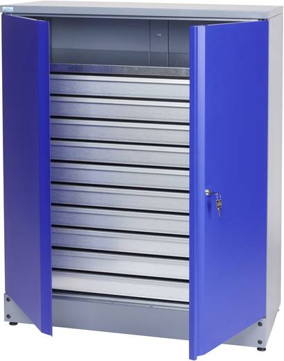 Küpper 70697 Materialschrank 110 cm ultramarinblau (B x H x T) 91 x 110 x 45 cm