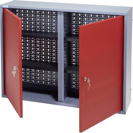 Küpper 70122 Hängeschrank 80 cm, 2 Türen rot (B x H x T) 80 x 60 x 19 cm