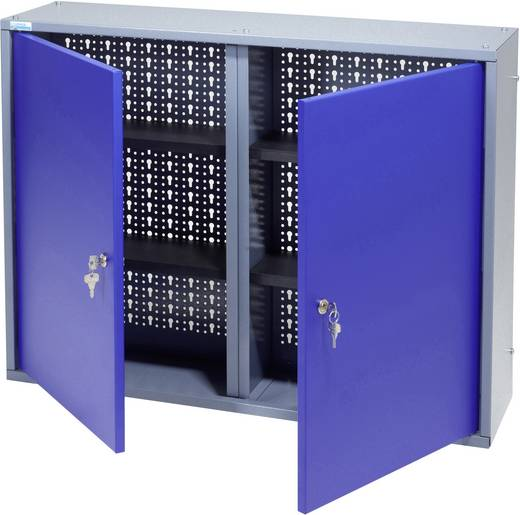Küpper 70127 Hängeschrank 80 cm, 2 Türen ultramarinblau (B x H x T) 80 x 60 x 19 cm