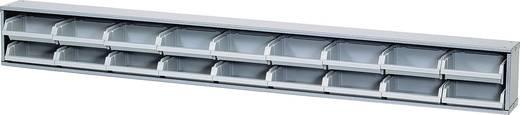 Küpper Sichtboxenleiste graue Boxen Grau (B x H x T) 120 x 14 x 10 cm