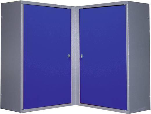 Küpper 70377 Eckhängeschrank 2 Türen ultramarinblau (L x B x H) 60 x 60 x 60 cm