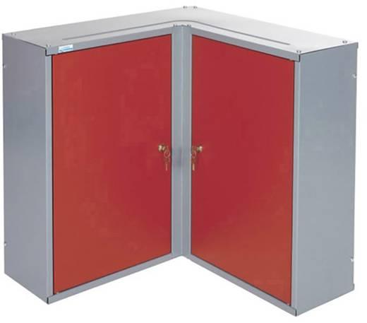 Küpper 70372 Eckhängeschrank 2 Türen rot (B x H x T) 60 x 60 x 19 cm