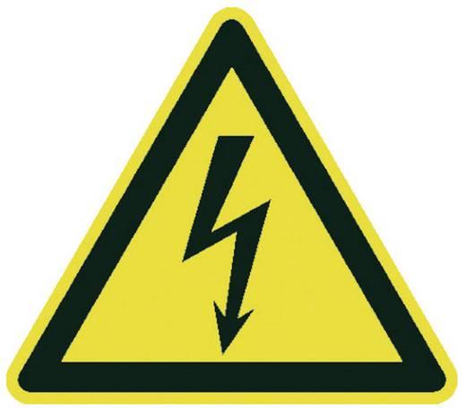 Moravia 345.26.119 MORION Warnaufsteller - Elektrische Spannung Kunststoff