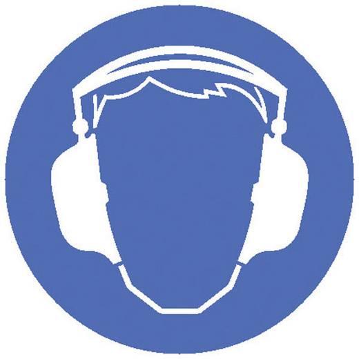 Moravia 345.24.447 MORION Warnaufsteller - Gehörschutz tragen Kunststoff