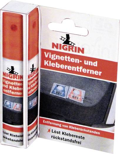 Nigrin 74185 Vignetten- und Kleberentferner 8 ml