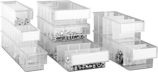 Lagersichtbox (B x H x T) 132 x 100 x 400 mm Transparent 69199 1 St.