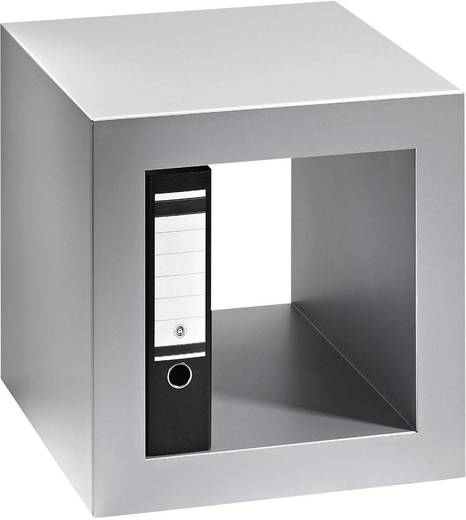 Hans Hansen 4301-116 Büromöbel Cube Weiß-Alu