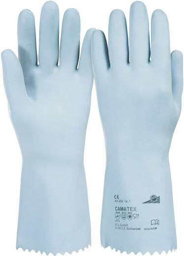 KCL 450 Handschuh Camatex Naturlatex, Baumwolle Größe 10