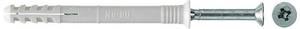 FISCHER N-S 8x100//60 Nageldübel mit Schraube Dübel Nagelschraube vormontiert
