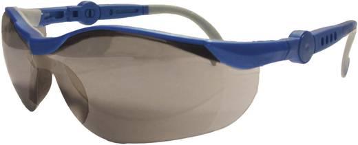 Schutzbrille verspiegelt L+D Upixx 26752 Blau, Grau DIN EN 166-1
