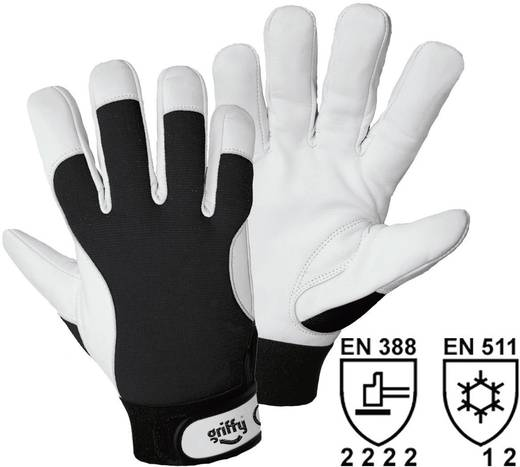 Nappaleder Montagehandschuh Größe (Handschuhe): 9, L EN 388 , EN 511 CAT II Griffy 1707 1 Paar