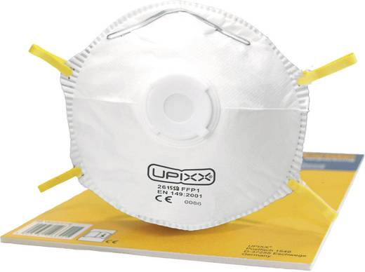 Feinstaubmaske mit Ventil FFP1 Upixx 2615SB 1 St.