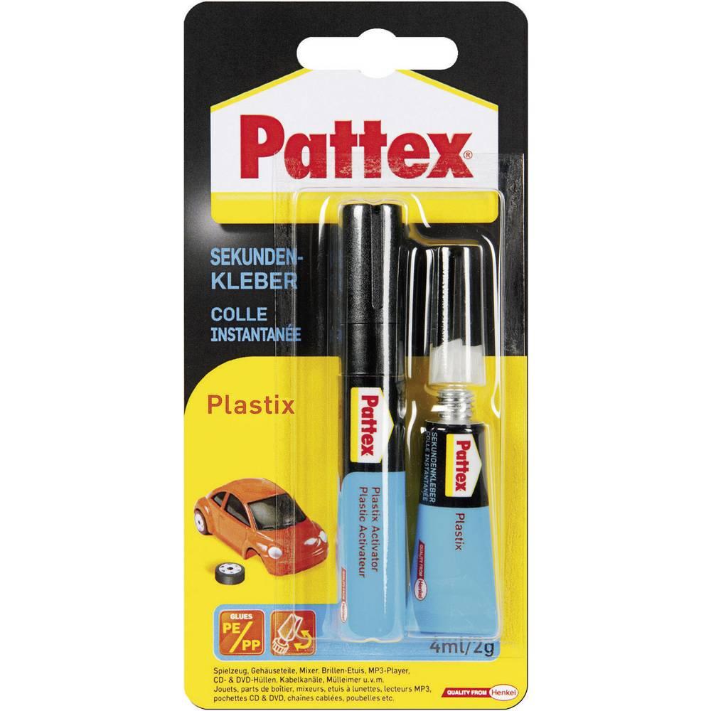 Colle plastique pattex psa1c 1 set - Colle pour plastique ...