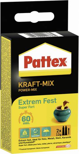 Pattex KRAFT-MIX Extrem Fest Zwei-Komponentenkleber PK6FT 24 g