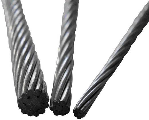 Stahldrahtseil (Ø x L) 4 mm x 1 m TOOLCRAFT 486775 Grau
