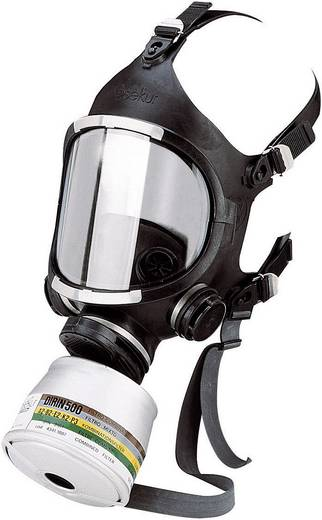 Atemschutz Vollmaske ohne Filter Größe: Uni EKASTU Sekur C607/F 466 607