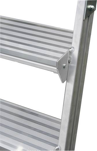 Krause 820259 Aluminium Podestleiter fahrbar Arbeitshöhe (max.): 3.20 m Silber 42.5 kg