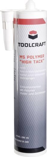 TOOLCRAFT High Tack Klebe- und Dichtmasse Farbe Weiß MSP.HIT.K290 290 ml