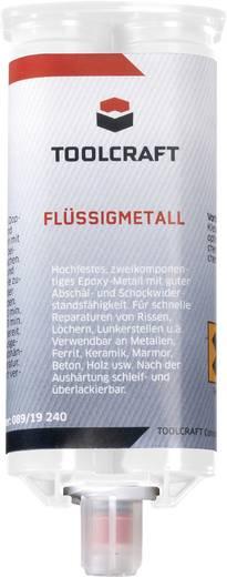 TOOLCRAFT Flüssigmetall Zwei-Komponentenkleber 50 g
