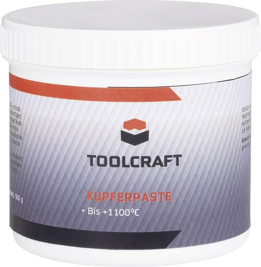 Kupferpaste TOOLCRAFT KUP.D500 500 g