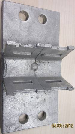 Adapteur de collier pour miroir de circulation Moravia 245.11.059