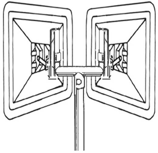 Moravia 245.11.264 Gabelaufsatz für Verkehrsspiegel (B x H) 65 cm x 54 cm