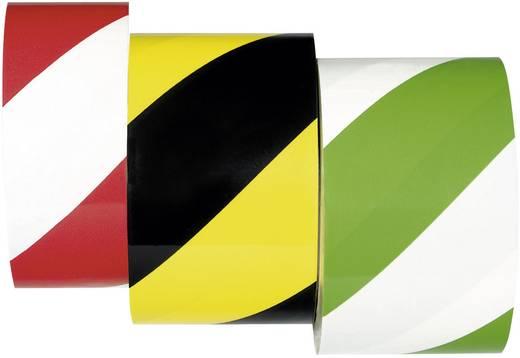 Moravia 261.13.438 PROline-tape gelb-schwarz Bodenmarkierungsband selbstklebend 33 m x 75 mm