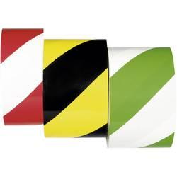 Moravia 261.18.826 PROline páska červeno-biela páska na značenie podláh samolepiaca