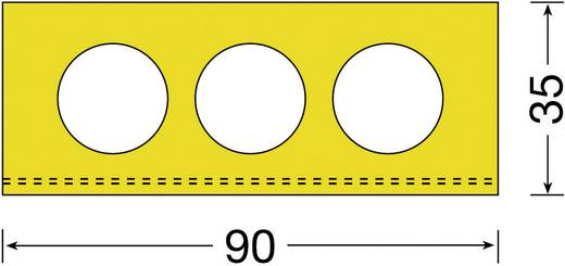 Moravia 422.15.292 MORION-Rampenfender gelb (L x B) 1000 mm x 90 mm