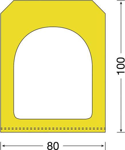 Moravia 422.19.641 MORION-Rampenfender gelb (L x B) 1000 mm x 80 mm