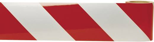 Moravia 430.26.748 MORION-Warnmarkierung-Flex DIN 30 710 rot/weiß (L x B) 9 m x 141 mm