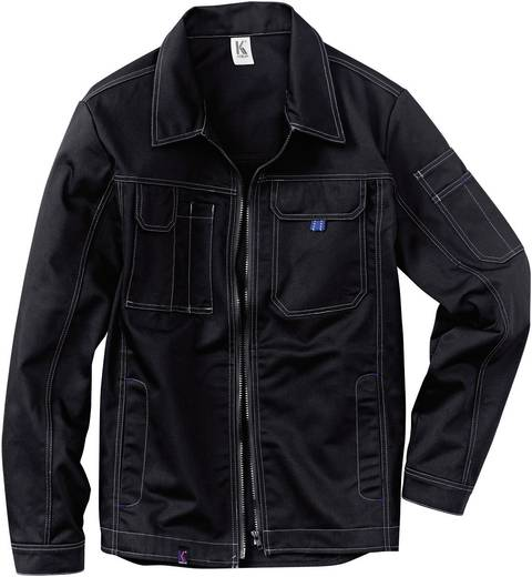 Kübler Active Wear 1217 3419-99 INNO PLUS UNI-DRESS Jacke Größe: 50 Schwarz