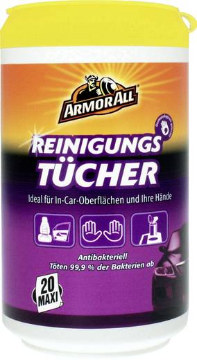 Reinigungstücher ArmorAll Clean-Up Wipes 87020L 20 St.