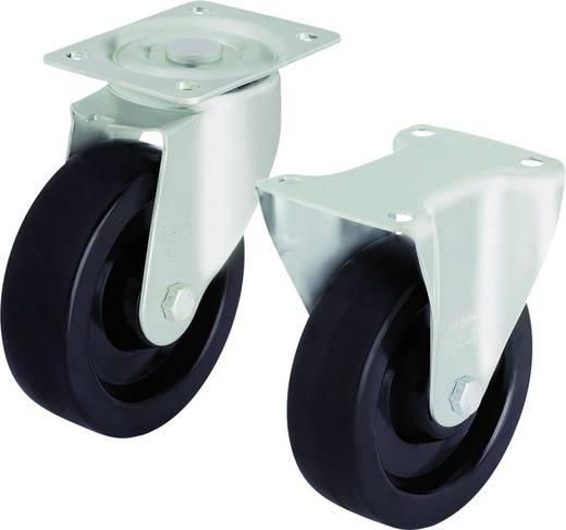 Blickle 605618 Hitzebeständige Lenkrolle Ø 100 mm Gleitlager Ausführung (allgemein) Lenkrolle - Gleitlager