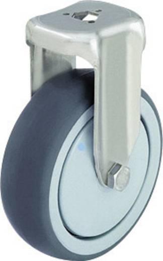Blickle 574608 Edelstahl-Apparate-Bockrolle mit Rückenloch Ø 125 mm Kugellager