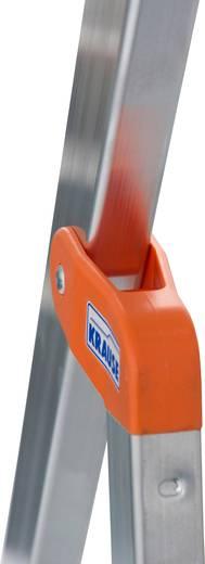 Aluminium Stufen-Stehleiter Arbeitshöhe (max.): 2.65 m Krause 126214 Silber 2.9 kg