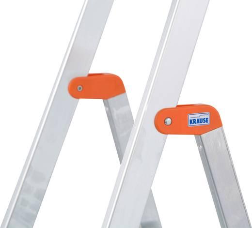 Krause 126221 Aluminium Stufen-Stehleiter Arbeitshöhe (max.): 2.85 m Silber 3.7 kg