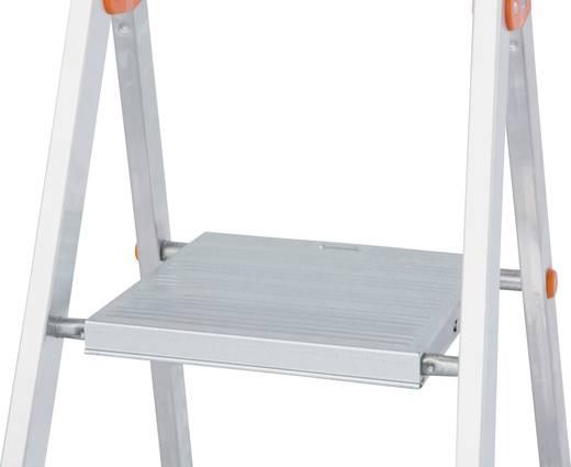 Aluminium Stufen-Stehleiter Arbeitshöhe (max.): 3.25 m Krause 126245 Silber 5.2 kg