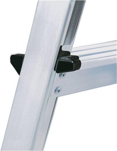 Aluminium Stufen-Stehleiter Arbeitshöhe (max.): 3.50 m Krause 126351 Silber 6.4 kg