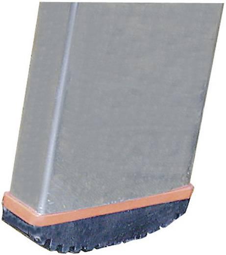 Aluminium Anlegeleiter Arbeitshöhe (max.): 2.80 m Krause 121387 Silber 2.8 kg