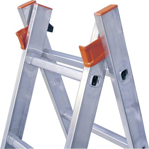 Aluminium Mehrzweckleiter Arbeitshöhe (max.): 5.25 m Krause 120571 Silber 9.7 kg