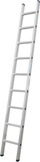 Aluminium Anlegeleiter Arbeitshöhe (max.): 4.40 m Krause 127068 Silber 6 kg