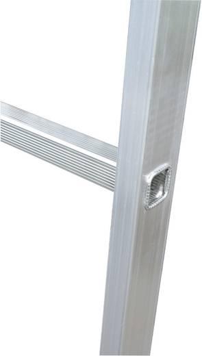 Krause 127013 Aluminium Anlegeleiter Arbeitshöhe (max.): 2.80 m Silber 3 kg