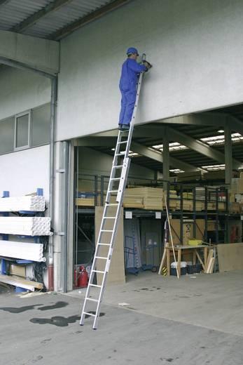 Aluminium Schiebeleiter Arbeitshöhe (max.): 6.85 m Krause 123145 Silber 13.5 kg